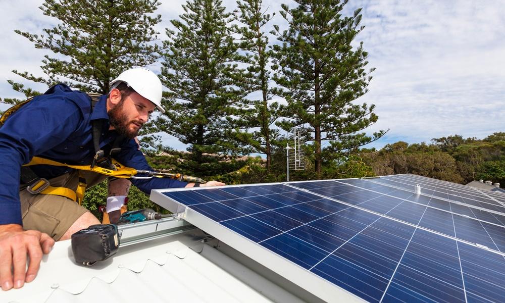 güneş paneli-montaj-raf sistemi